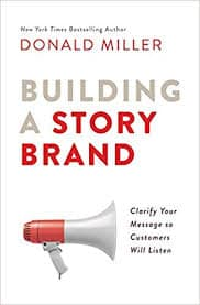 cover for Building a StoryBrand book on marketing